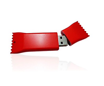USB-Flash Drive (флешка) в виде этикетки PL039